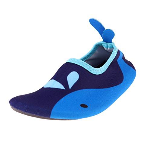 SM SunniMix 1 Par de Zapatos Antideslizantes para Niños para Juegos Y Entretenimiento en Piscinas Y Playas de Material TPR - M