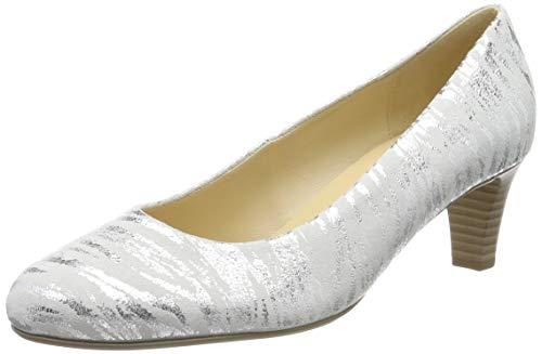 Gabor Shoes Damen Basic Pumps, Weiß (Ice 31), 36 EU