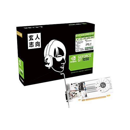 玄人志向 NVIDIA GeForce GT 1030 搭載 グラフィックボード 2GB シングルファンモデル GF-GT1030-E2GB/LP/D5