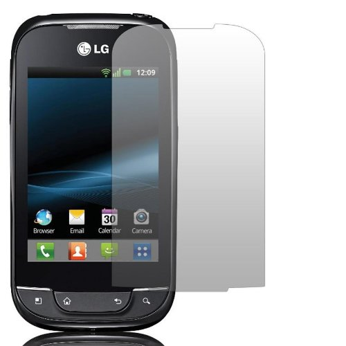 2 x Slabo Bildschirmschutzfolie LG P690 Optimus Bildschirmschutz Schutzfolie Folie Crystal Clear unsichtbar Optimus Net MADE IN GERMANY
