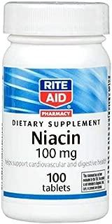 Rite Aid Niacin, 100mg - 100 ct