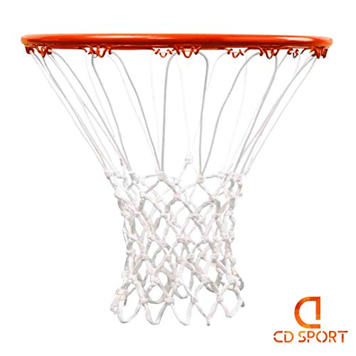 CDsport, Professional Basketball Net, Basketball Net Replacement, Anti-fraying, Regulatory Size, for Standard Baskets…