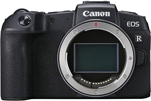 Canon EOS RP Systemkamera + Adapter EF-EOS R (26,2 MP, 7,5 cm (3 Zoll) Clear View LCD II Display, Digic 8, 4K Video, WLAN, Bluetooth, mit Vollformat-Sensor) schwarz