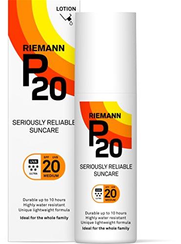 RIEMANNS P20 Filtro Solar Facial SPF 20, 100 ml