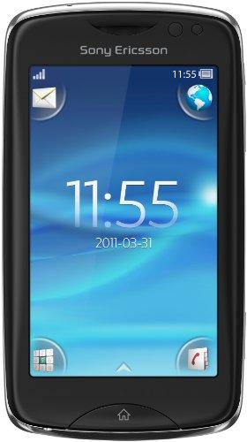 Sony Ericsson Txt Pro Smartphone (7,6 cm (3,0 Zoll) Bildschirm, Touchscreen, 3,15 Megapixel Kamera) schwarz