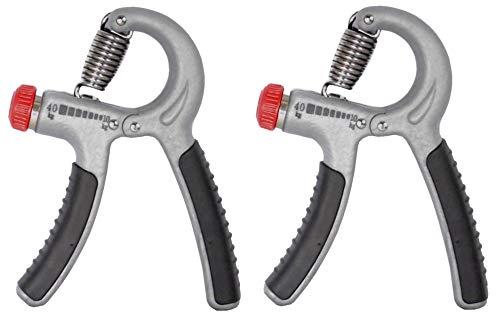2x Kabalo einstellbares Handkraftgerät, Trainingsgerät 10–40kg, für Handgelenk und Unterarm, Kräftigungstraining