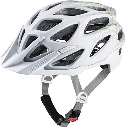 ALPINA Unisex - Erwachsene, MYTHOS 3.0 LE Fahrradhelm, white-prosecco matt, 52-57 cm