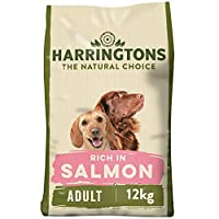 A complete dry dog food rich in salmon and potato With no artificial colours, flavours, dairy, soya and wheat With citrus antioxidants, nutrient rich kelp, Omega 6 and Omega 3 fatty acids and yucca extract With added yeast to help support healthy dig...