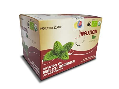Goya Infusión Melisa Orgánica, 37.5 g, Pack de 1