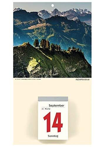 Zettler 341-0001 Wand-,Wandkalender Auslagen-Display und Bastelkalender Kalenderrückwand Gebirge