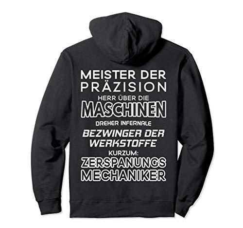 Dreher Fräser Meister Der Präzision Zerspanungsmechaniker Pullover Hoodie