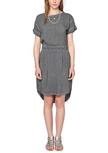 Q/S designed by - s.Oliver Damen 41.505.82.2179 Kleid, Schwarz (Black 9999), (Herstellergröße: 38)