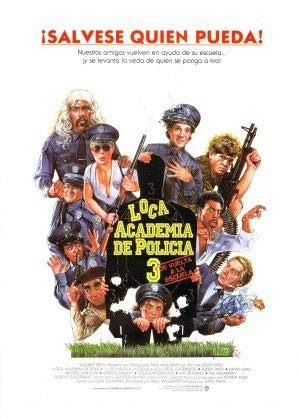 POLICE ACADEMY 3 – Spanish Imported Movie Wall Poster Print – 30CM X 43CM