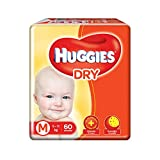 Huggies New Dry Diapers, Medium (Pack of 60)