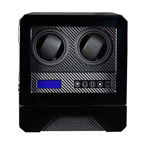 Oksmsa Cajas Giratorias for Relojes Automatico, Motor Silencioso, Pantalla Táctil LCD, 2 Posición De Bobinado con Un 1 Cajón