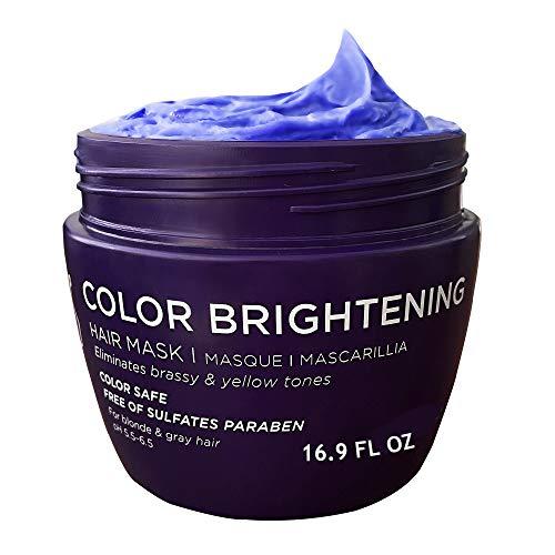 Luseta Purple Hair Mask 16.9 Oz, Deep Conditioner...