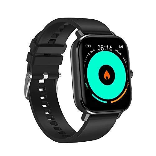 LRHD 1.54 pulgadas Bluetooth Recordatorio de llamadas Smart Watch Impermeable Fitness SmartWatch Fitness Tracker SmartWatch Sport Smart Pulsera SmartWatch Compatible con iOS, Android para hombres, muj