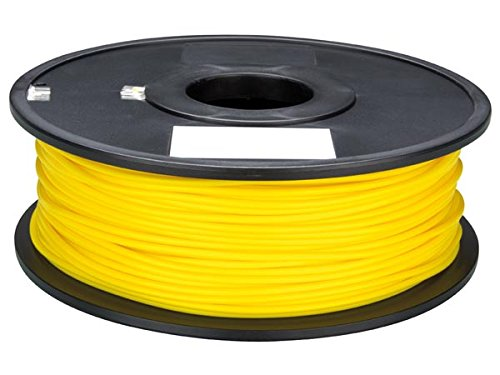 Velleman PLA175Y1 PLA Filament for 3D Printers, 1 Grade to 12 Grade, 14172' Length, 1/16' Diameter, Yellow