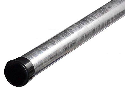 2m Antennenmast - xm-line ROK48/2000,H:200cm Ø:48mm feuerverzinkt rostfrei mit Mastkappe