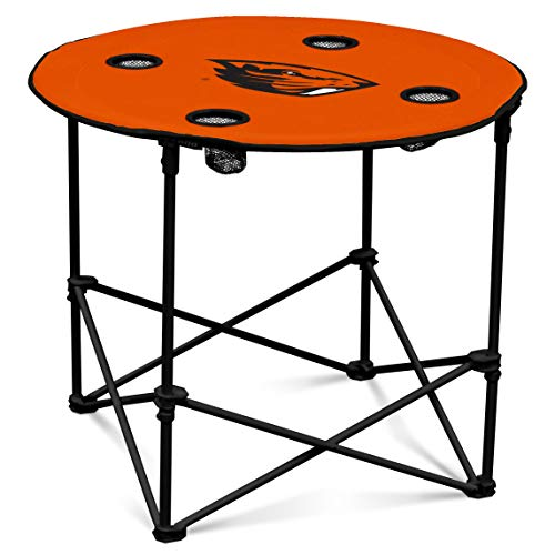 Logo Brands NCAA Oregon State Beavers Round Table, One Size, Team Color