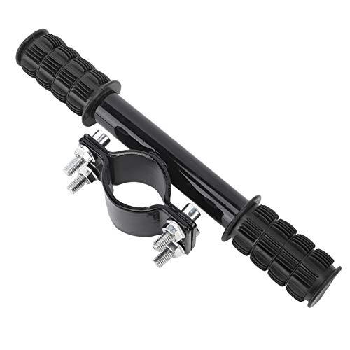 FOLOSAFENAR Manillar para niños de aleación de Aluminio fácil de Quitar, para Scooter eléctrico(Black)