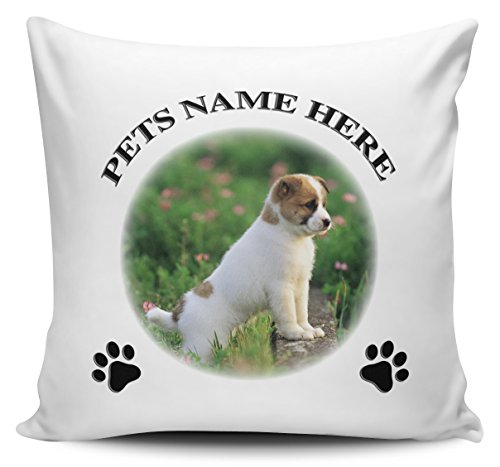Personalised Cat / Dog / Pet / Animal Any Name & Picture Cushion Cover