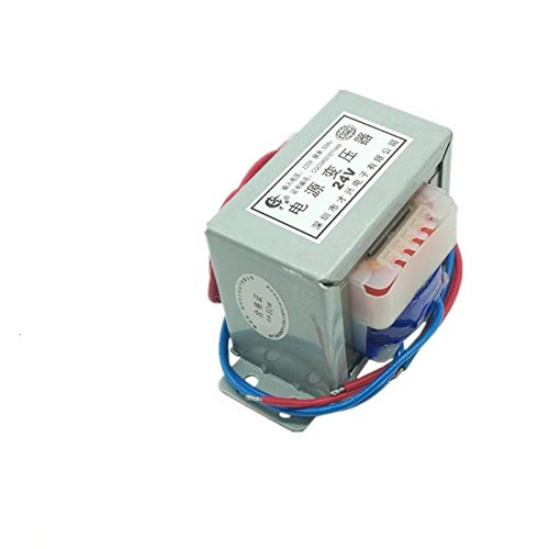 LIUZHENQIANG Lzqiang Power Transformador 80W Bobina Transformador de Audio EI76 DB-80VA 220V 380V A CA Solo/Double 6V 9V 12V 18V 24V 30V 36V 110V TRAFO (Color : 220V Double, Output Voltage : A