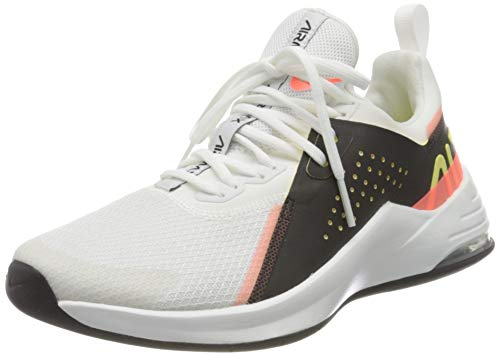 Nike Wmns Air Max Bella TR 3, Scarpe da Ginnastica Donna, White/lt zitron-Black-BRT Mango-Summit White, 38.5 EU