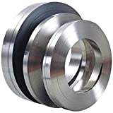Papel de aluminio 1060 de alta pureza, tira de aluminio puro, resistente a la corrosión, longitud: 10 m, (grosor: 0,2 mm, ancho: 15 mm)