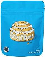 Cookies California Mylarbags - Sticky Buns - 20 STück mit Sticker -Leere Verpackungen für Kekse, Süßigkeiten, etc