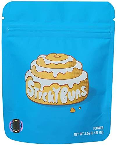 Cookies California Mylarbags - Sticky Buns - 20 sztuk z naklejkami