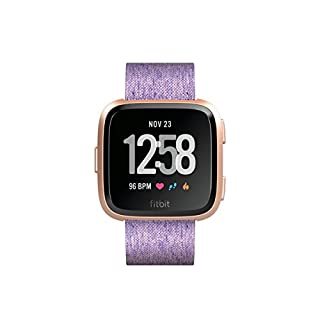 Fitbit Versa Special Edition Health & Fitness Smartwatch with Heart Rate, Music & Swim Tracking, Lavender (B07B9PS648) | Amazon price tracker / tracking, Amazon price history charts, Amazon price watches, Amazon price drop alerts