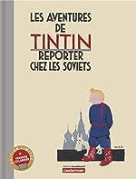 Tintin au Pays des Soviets Couleur Luxe de Hergé