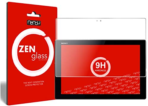 nandu I Zen de Pantalla de Cristal Flexible para Sony Xperia Z4Tablet Protector De Pantalla I Protector De Pantalla 9H
