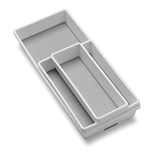 Madesmart 3 Tray Pack, white