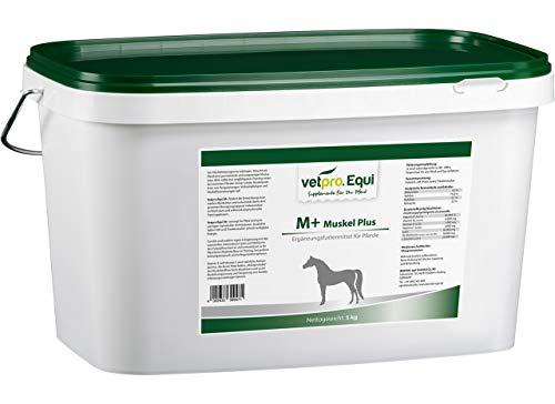 Vetpro Equi M+ (Muskel Plus) 5 kg - Zusatzfutter für den Muskelaufbau und Muskelentspannung beim Pferd