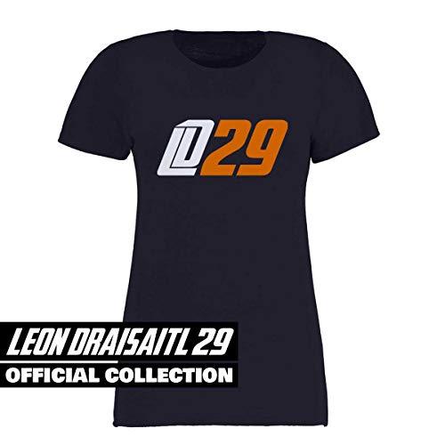 Scallywag® Eishockey T-Shirt Frauen Leon Draisaitl LD29 Oilersnation I Größen XS - XXL I A BRAYCE® Collaboration (Eishockey für Frauen mit NHL Superstar LD29) (S)