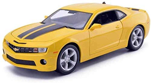 min min HYZB Car Modelo 1,24 Aleación de simulación Adornos de Juguete de fundición a presión Deportes Joyería de colección de Autos 25x12x8cm (Color: Blanco) (Color : Black)