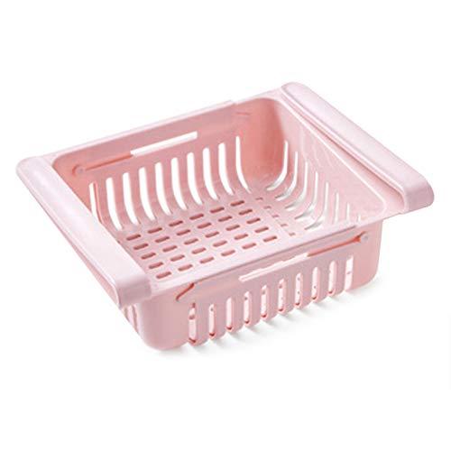 Avalita 1/6 piezas organizador de refrigerador, organizador de nevera, caja de almacenamiento para armarios de congelador, para cocina