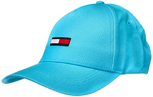 Tommy Jeans TJW Flag Cap Gorro/Sombrero, Azul Mar, Talla única para Mujer