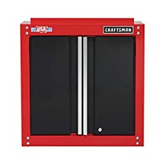 Proudly made in the USA with global Materials in Sedalia, mo Heavy-duty steel construction Includes hardware and assembly instructions Full-width shelf supports 100-lbs Magnetic catches hold the doors closed Keyed internal locking system safeguards y...