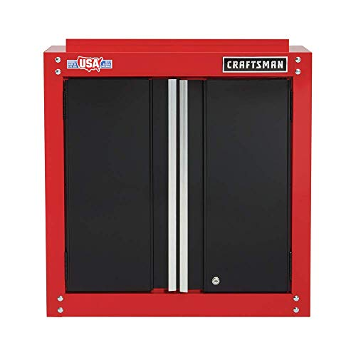 CRAFTSMAN Garage Storage, 28-Inch Wide Wall Cabinet (CMST22800RB)
