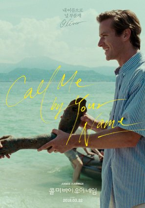 IMPORT poster Call Me by Your Name–Korean Movie Wall Poster Print–30cm x 43cm