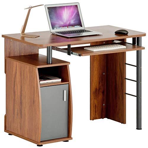 Piranha kompakter Computer-Schreibtisch mit Schrank und Regalfach