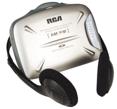 RCA RP1822 Personal AM/FM Cassette Player