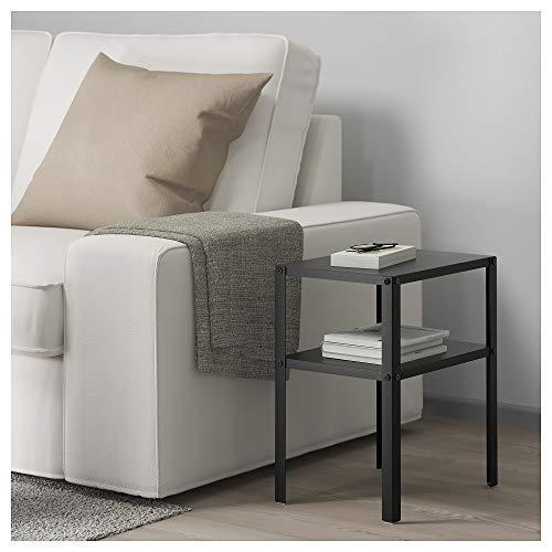 IKEA/イケアKNARREVIK:ベッドサイドテーブルブラック(403.867.31)