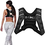 Adurance Weighted Vest Workout Equipment, 10lbs Body Weight Vest for Men, Women, Kids, 10 Pounds/4.54 KG