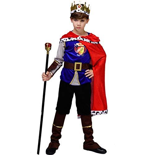 Kid's Medieval Prince King Costume (10-12Y)