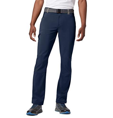 Columbia Maxtrail Ii Senderismo Pantalones, Hombre, Negro, W30/L34