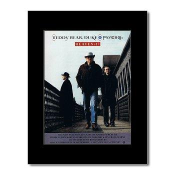 Heaven 17 – Teddy Bear Duke und Psycho Mini-Poster – 28,5 x 21 cm